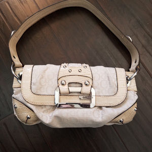 Guess Tan Shoulder Purse